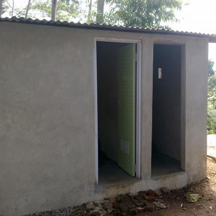 Pembangunan MCK Rw 012